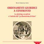 Serra - Ordinamenti giuridici a confronto